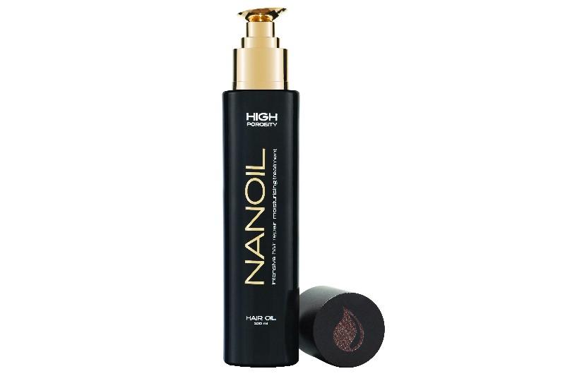 Nanoil Hårolje -Produktet vil regenerere skadet hår